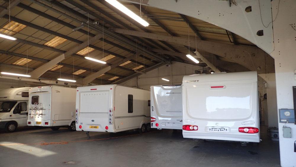 MG Caravans workshop servicing and repairs