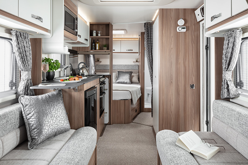 mg caravans 2020 Swift Accord interior