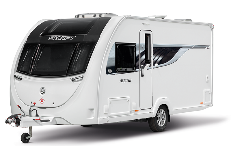 mg caravans 2020 Swift Accord exterior