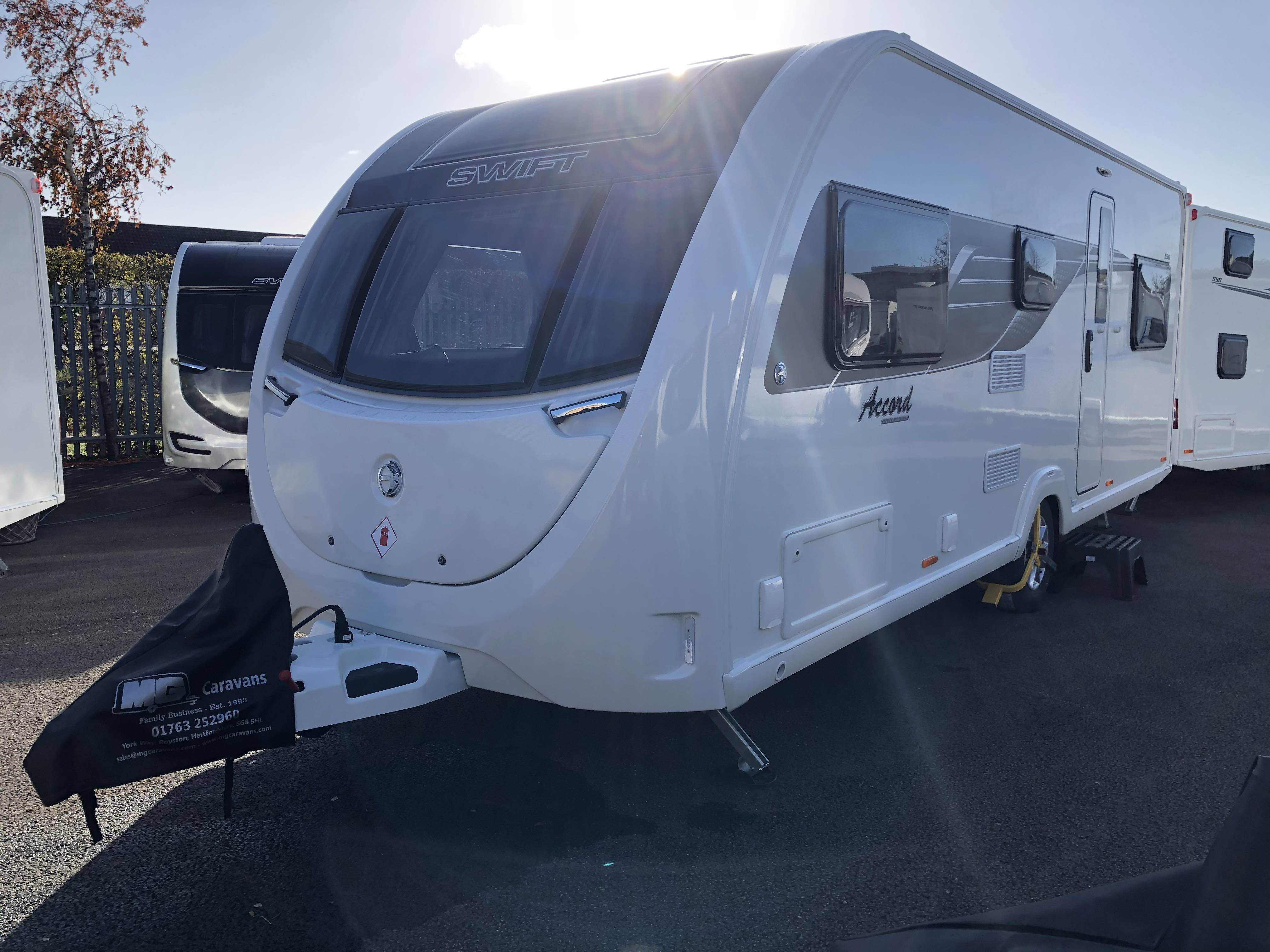 2021 Swift Accord 590 – *Demonstrator in Stock & Factory Fresh Models Available NOW!*