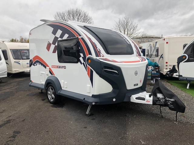 2020 Swift Basecamp 2 SE – with Vango Air Awning